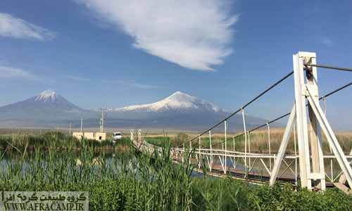 پل کابلی چشمه ثریا