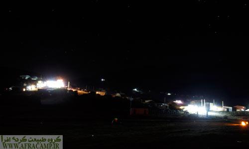 جواهردشت در شب