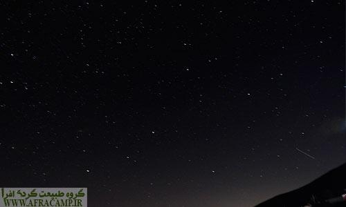 آسمان ستاره باران جواهردشت