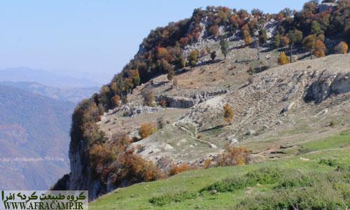 مناظر بالای قلعه ماران