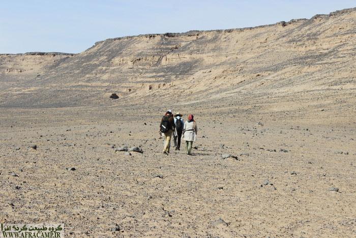 در مسیر صخره