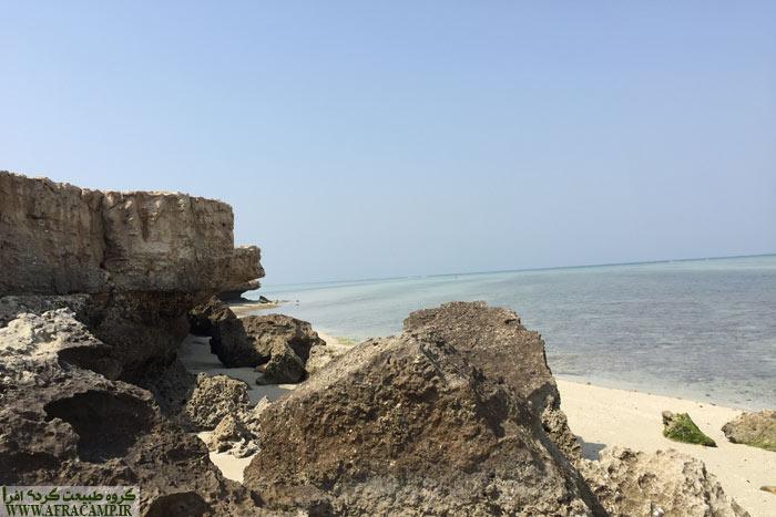 آرامش ساحل جنوب