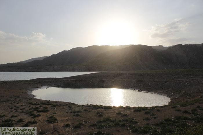 عصرگاهی نوروزی دریاچه سد کوثر