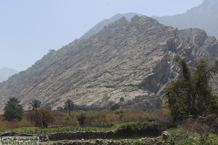 ابتدای پیمایش، روستای دیل