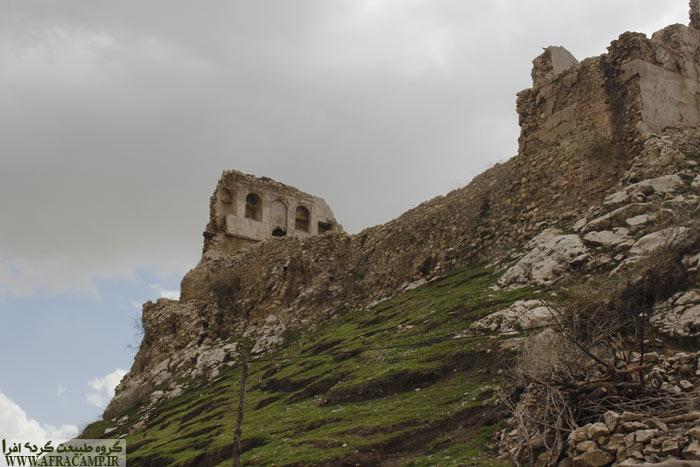 قلعه تاریخی دیشموک و کوهستان ما را به اینجا کشاند...