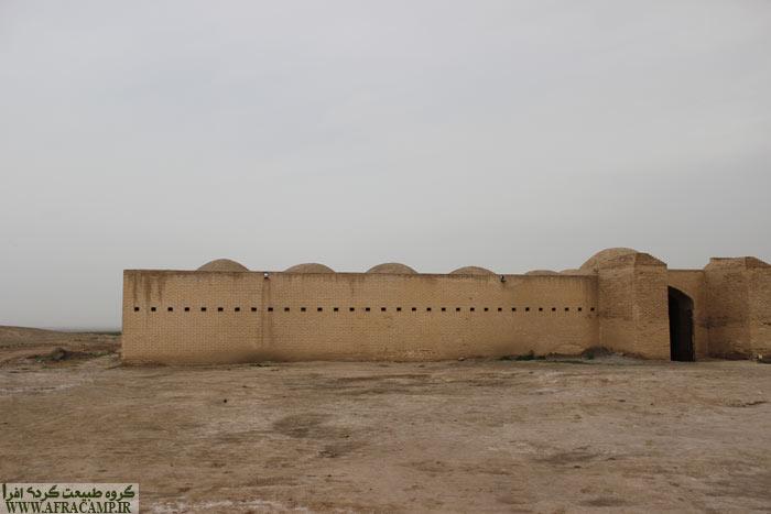 کاروانسرای بازسازی شده آوه