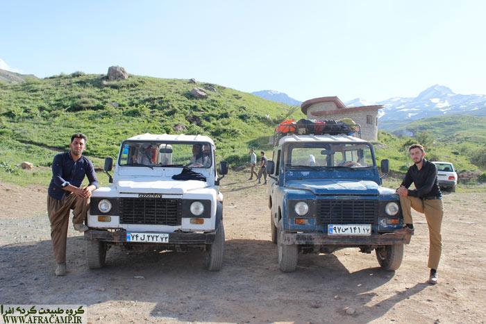 امید و فیصل شعبانی، راهنمای محلیمنطقه کوهستانی دالامپر