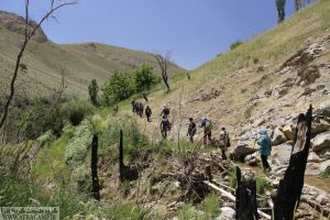 Valley navigation favor, seven springs Pirchupan(Azar, East Azarbaijan Province)