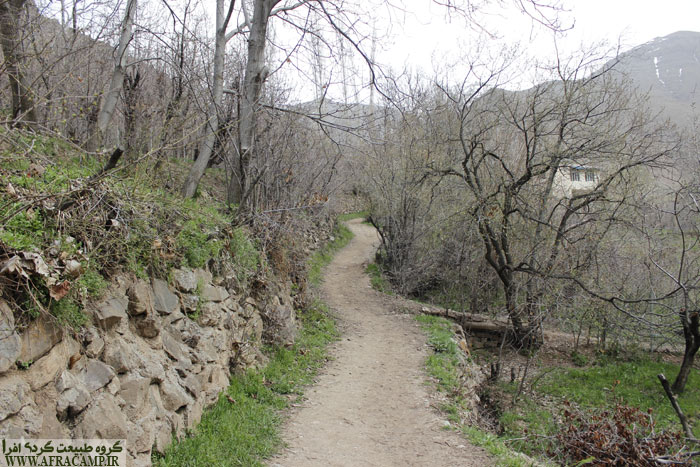 مسیر کوچه باغ