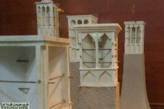 بادگیرهای نمادین، نشانه ای از معماری سنتی هرمزگان