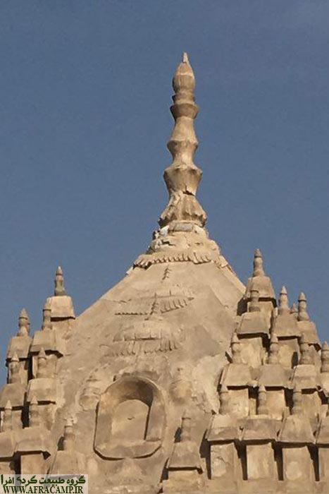 تزئینات سقف معبد