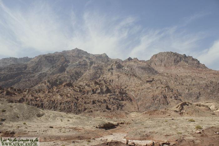 مناظر مسیر بندرعباس به بندر خمیر