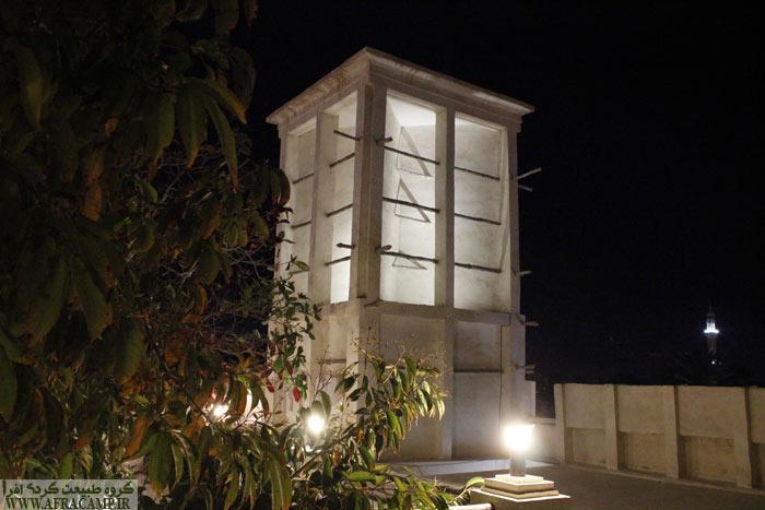 بادگیر در معماری جنوب و بندر کنگ بسیار کاربرد است.