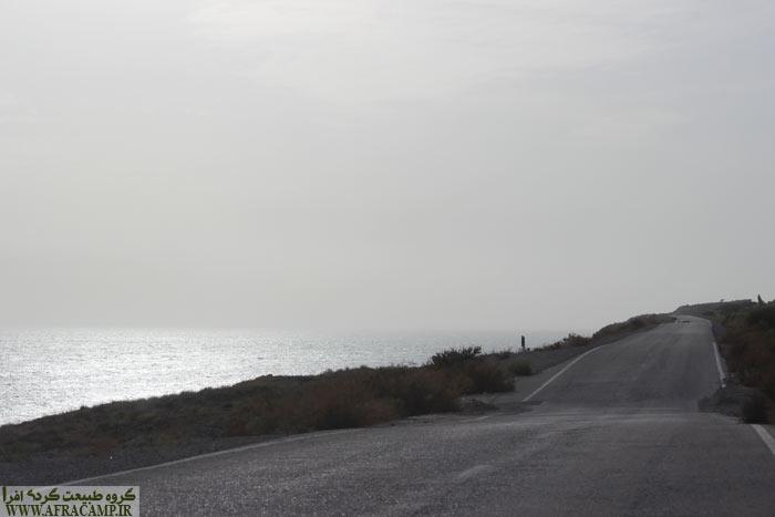 جاده های ساحلی هرمزگان شما در خود محو می کند...