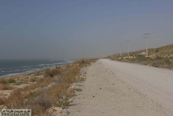 جاده خاکی 25 کیلومتری چیرویه به نخیلو