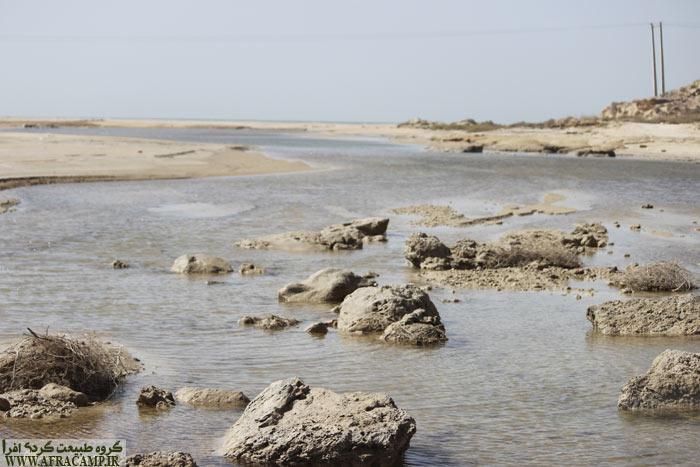 آب نما در نزدیکی بندر چیرویه به سمت نخیلو