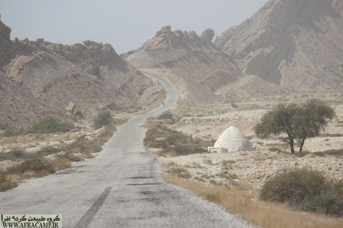 مناظر زیبای خلیج فارس در جاده مقام به سمت مغدان و زیارت