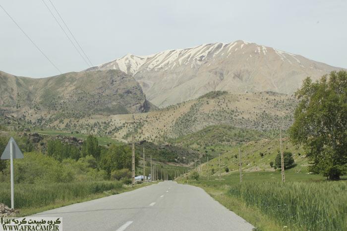 در نزدیکی روستای کیگوران