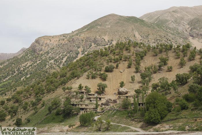 روستای کوچکی در منطقه نصرآباد