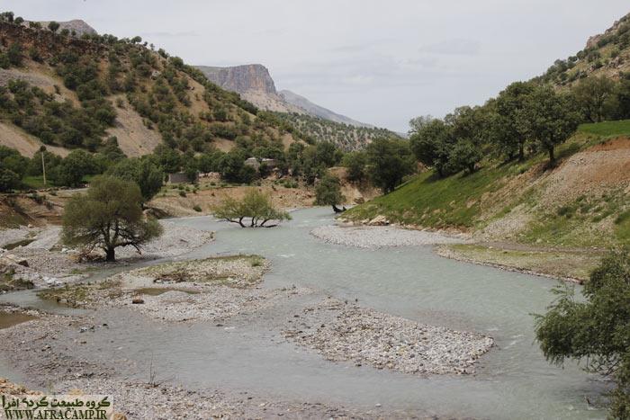 در مسیر شول آباد