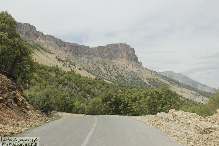 در مسیر نصر آباد به شول آباد