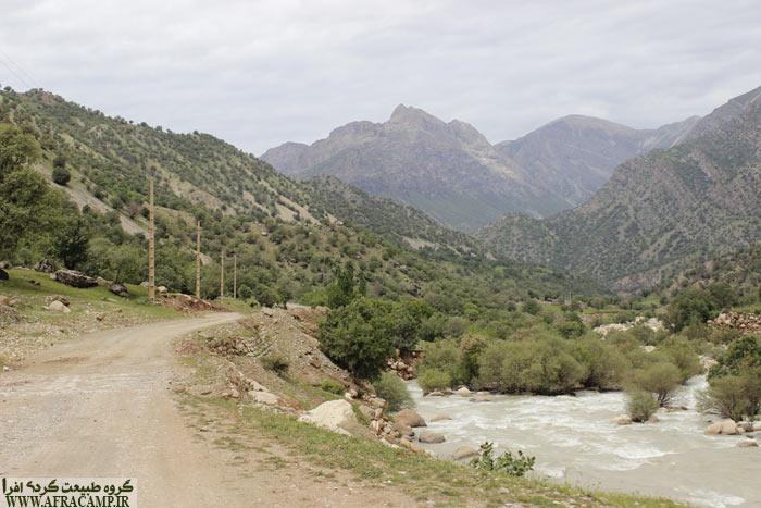 چیزی تا دیدن شکوه طبیعت، آبشار برنجه، باقی نمانده