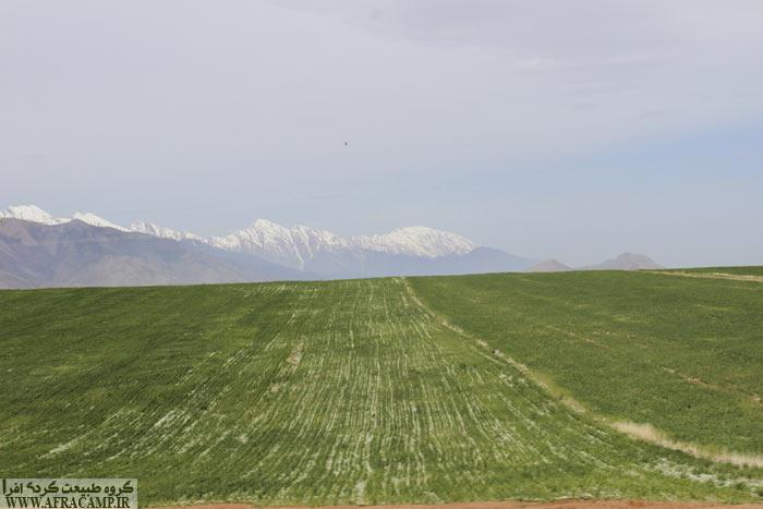 مناظر بهاری جاده الیگودرز به شول آباد