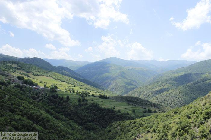 روستای ناپشته، در نزدیکی هجراندوست