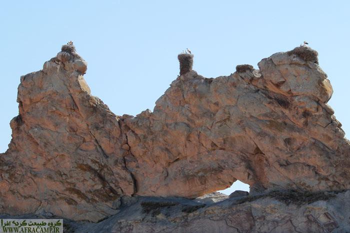 قلعه لک لک ها در نزدیکی ماهنشان