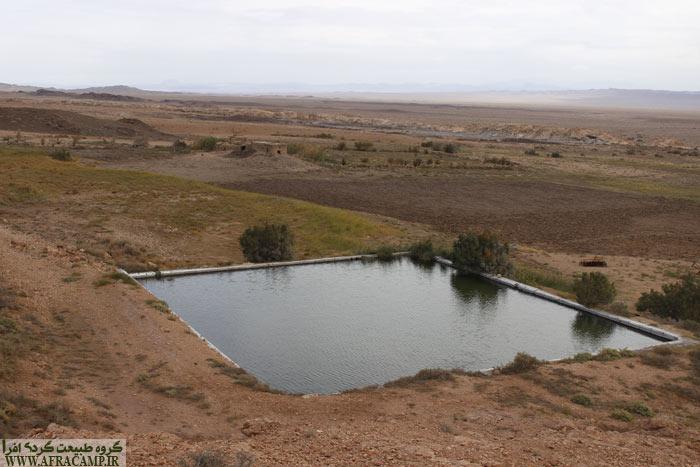 استخر بزرگ آب در ماجرات