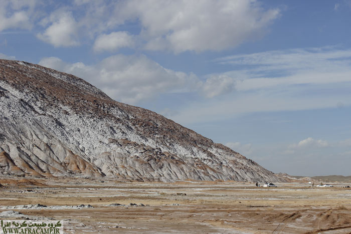 At the foot of the salt dome